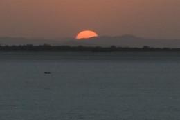 Sunset in Sambhar