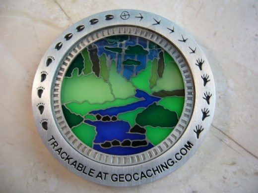 Cool Suncatcher geocoin