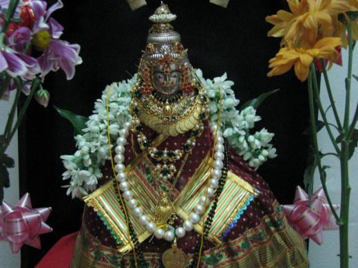 Goddess Varalakshmi- May goddess showers peace and prosperity in everyone's life..