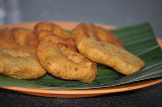 Medu Vadai one of the dish in naivedya.