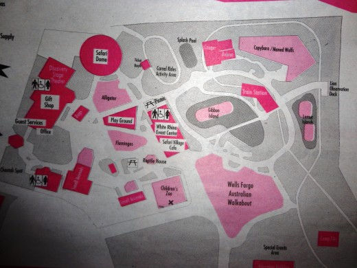 Safari Village map