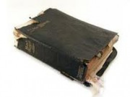 DOES YOUR BIBLE SHOW THIS MUCH WEAR FROM BURNING THE MIDNIGHT OIL?