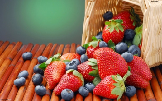"""The """"berries"""" with high antioxidants level"""