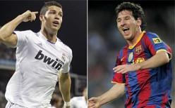 C Ronaldo v L Messi
