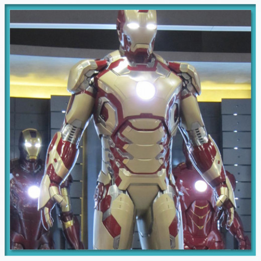 The new Iron Man Armor for the 3rd movie.