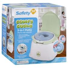3-in-1 Potty Seat!