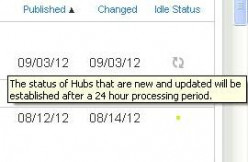 New 24 hour delay feature on new hubs.
