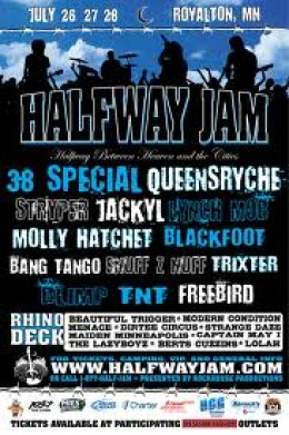 "Queensryche's first performance with Todd LaTorre was at Minnesota's ""Halfway Jam"" festival in July 2012."