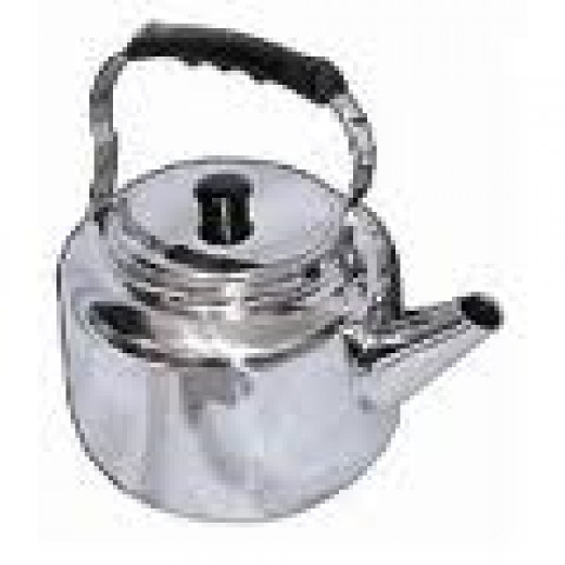 Old Time Stainless Tea Kettle with Bakelite handles just like they were made in the 50s & 60s