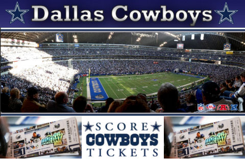 NFL Team the Dallas Cowboys Game Tickets, Jerseys, Hats, and Pennants