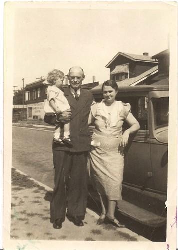 Grandma, Grandpa, and my mom