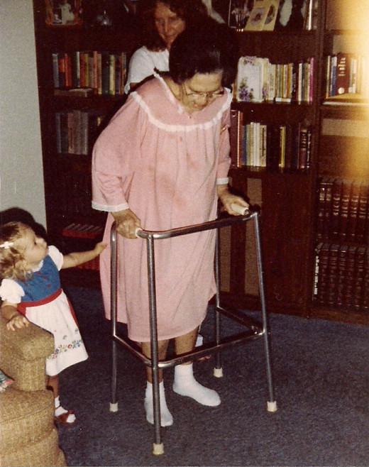 Grandma, My Mom, and My Daughter