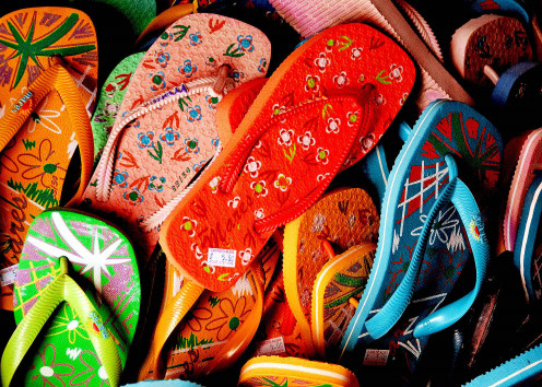 Summer Foot Fashion - Flip Flops!