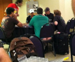 GenCon!  Nothing says GenCon like butt crack and gamers funk
