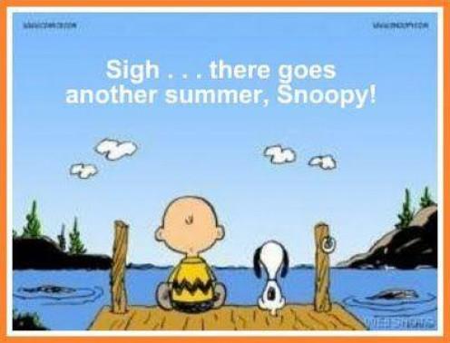 Farewell, Summer!!