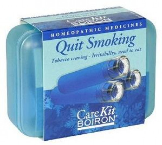 The Boiron Quit Smoking Care Kit