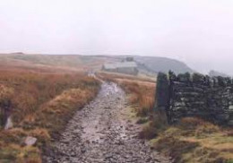 Dale edge trackway leading back around by Summerstone Lodge to Lofthouse-in-Nidderdale. Carry on into Wensleydale above Ripon and Masham