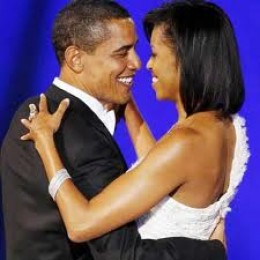 President Obama is romantic, and adores his wife!