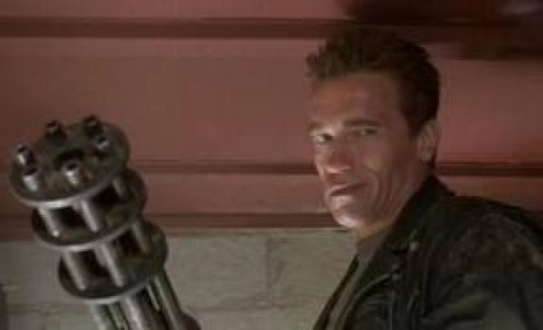 Terminator 2: Judgement Day featured fighting robots from the future. Sarah Conner must help save the future.