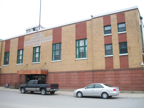 McIntyre Community Building, Schumacher, Timmins