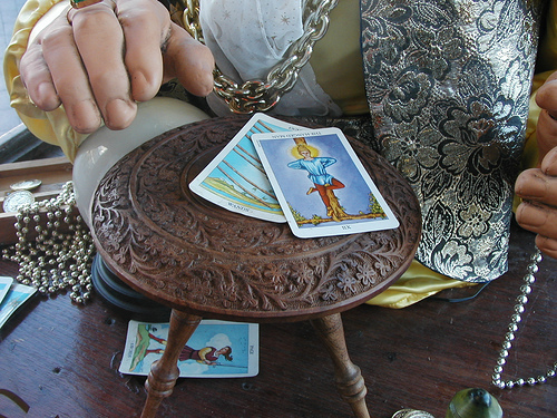 The Tarot Reader Must Interpret The Story Right