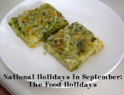 National Holidays in September: The Food Holidays