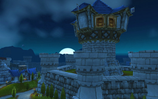 Theramore, Jaina's city.