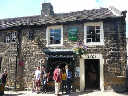 The oldest sweet shop in England - Pateley Bridge