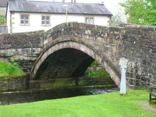 Dunsop Bridge in the Forest of Bowland