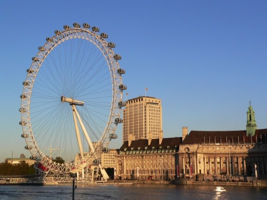 The London Eye & County Hall (South Bank)