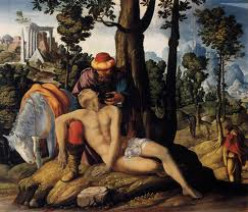 The parable of the Good Samaritan retold , with apologies to Jesus and Saint Luke