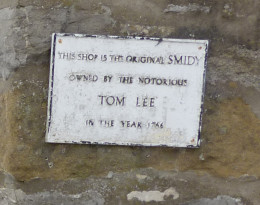 Commemorating the infamous, and murderous, blacksmith, Tom Lee ...