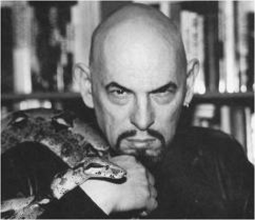 Anton Lavey of the Church of Satan