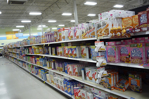 There is a universe of cereals out there!