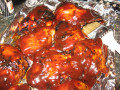 Recipe for BBQ Chicken - with Raspberry Chipotle Sauce