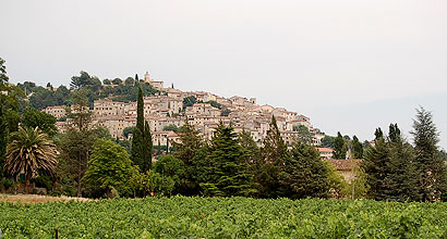Fayence, France Is One Of Many Small Villages That Overlook The French Riviera