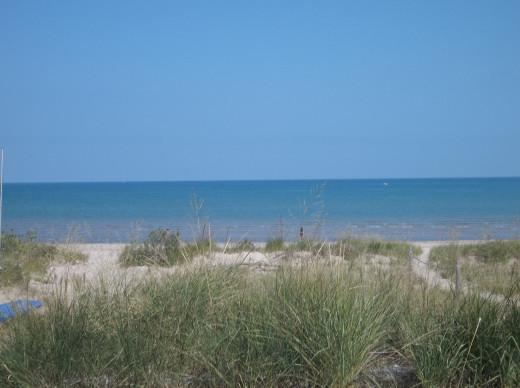 Sand Dunes at Ipperwash Beach