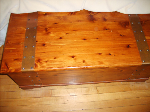 Example of a hope chest