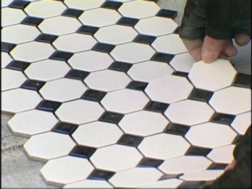 Installing ceramic floors