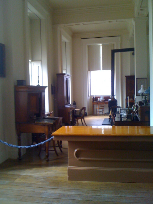 Inside the Old State Capitol in Springfield, Illinois