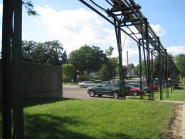 Clement J. Zablocki VA Medical Center grounds, Milwaukee, WI.