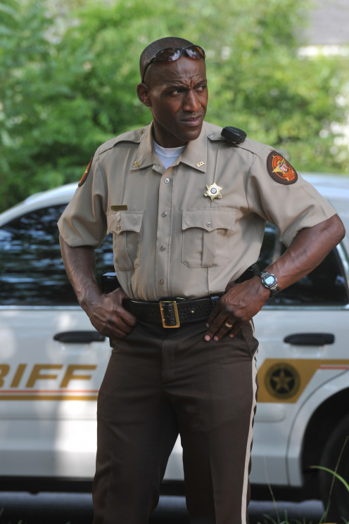 """Ken Bevel as Nathan Hayes in """"Courageous."""""""