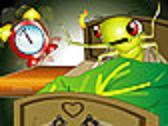 Wait! -- I'm awake!  -- I DO have rhythm! (Cicada wakes up after 17 years.)