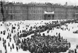 The demonstration in February 1917 at the winter palace of the Tsar was to be the seminal event that triggered the Russian Revolution and the extinction of the Romanov family in an apocalyptic purge under the Soviets.
