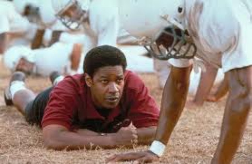 Remember the Titans was based on a true story and Denzel Washington did a marvelous job in the film.