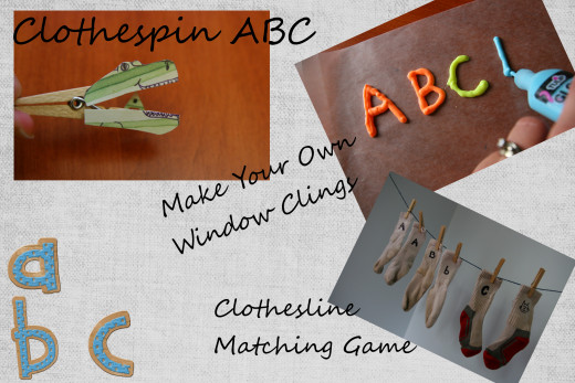 Creative ideas to learn the alphabet - learning is fun!