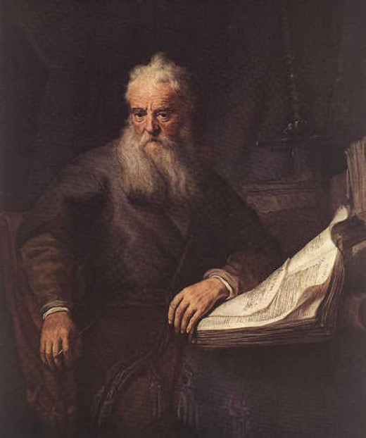 Saint Paul (c. AD 5 – c. AD 67), one of the most influential figure in the early advancement of Christianity. A considerable portion of the New Testament was ascribed to him.