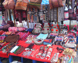 Thai and Hilltribe handicrafts sale