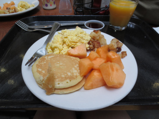 You won't go home hungry after the Breakfast Buffet