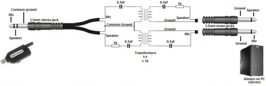 Audio cable schematics